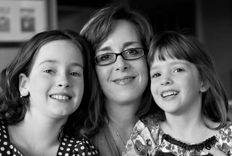 Meesh and her beautiful girls